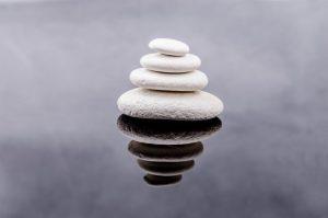 stenen drijven op water